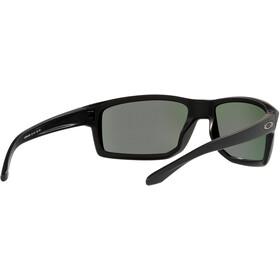 Oakley Gibston Sunglasses Men, matte black/prizm jade